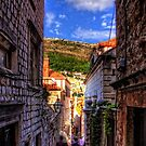 Walking around in Dubrovnik by Tom Gomez