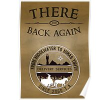 There and Back Again - Delivery Services Poster