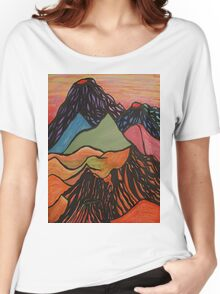 Cratered Landscape Women's Relaxed Fit T-Shirt