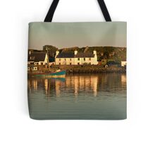 Islay: Port Ellen Harbour Dusk Tote Bag