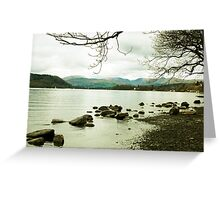 Near Bowness on Windermere Greeting Card