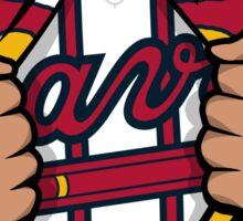 Super Braves Sticker