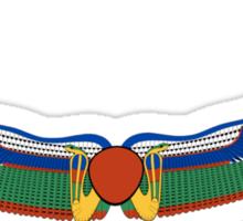 Egyptian Hieroglyphic Wings Sticker