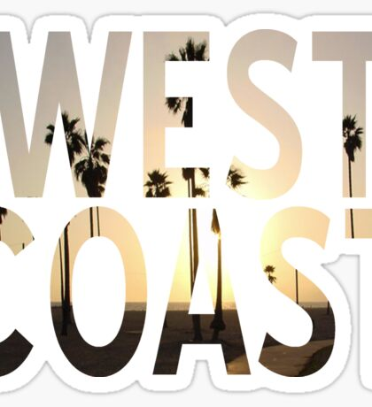 West coast 1 Sticker