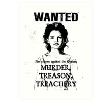 Wanted - Snow White Art Print
