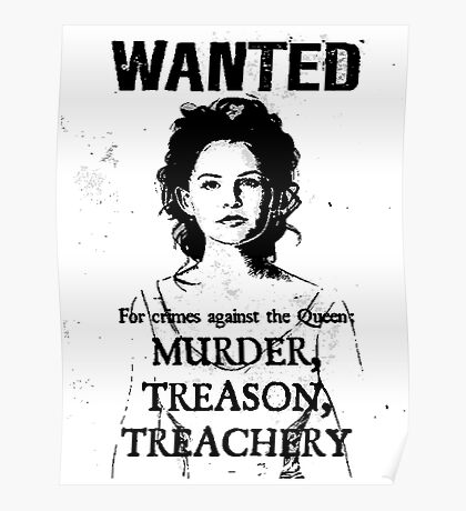 Wanted - Snow White Poster