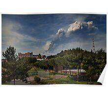 Etna: 6° parossismo 2012  Poster