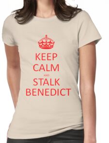 Stalk Benedict Womens Fitted T-Shirt