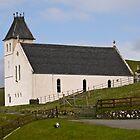 Free Church of Scotland, Uig, Isle of Skye, Scotland. by Hugh McKean