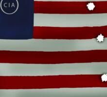 Illuminati flag Sticker