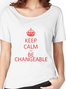 Be Changeable Women's Relaxed Fit T-Shirt