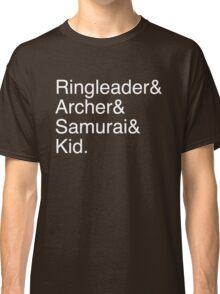 Ringleader, Archer, Samurai, Kid - The Walking Dead Classic T-Shirt