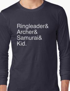 Ringleader, Archer, Samurai, Kid - The Walking Dead Long Sleeve T-Shirt
