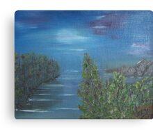 Seaside Cove Canvas Print