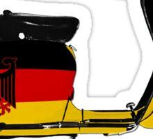 Scooter Germany Flag Die Cut Sticker Sticker