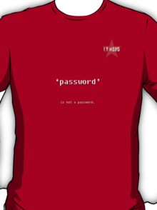 I.T HERO - Password... T-Shirt