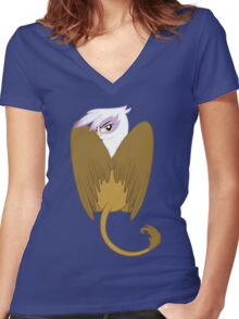 Gilda - Textless Version Women's Fitted V-Neck T-Shirt