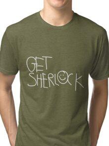 Get Sherlock (right way round) Tri-blend T-Shirt
