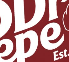 Dr Pepper Pepe Sticker