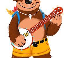 Septembear: Banjo  by crunchydomfam