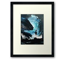 Wrong Place Wrong Time Framed Print