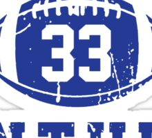 Dillon Panthers Football - 33 Sticker