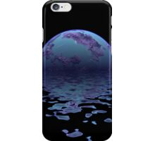 Blue and Purple Planet iPhone Case/Skin
