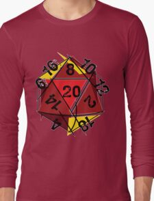 Abstracted D20 Long Sleeve T-Shirt
