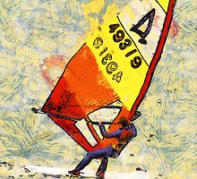 Windsurfer by Graham Prentice