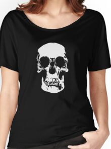 221b Baker Street Skull Women's Relaxed Fit T-Shirt