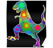 T. Rex Fireworks Poster