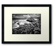 In the Footsteps of Giants Framed Print