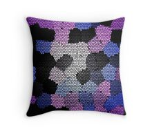 In-Titled Purple Throw Pillow