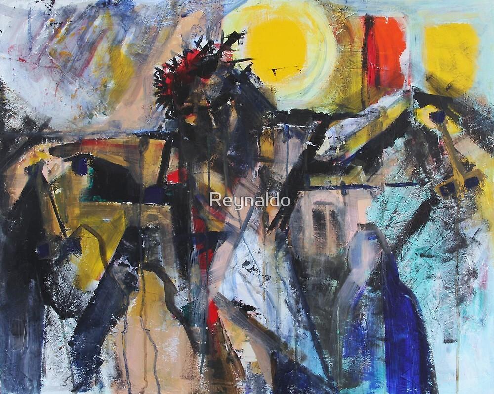 Study For Daugthers of Jerusalem by Reynaldo