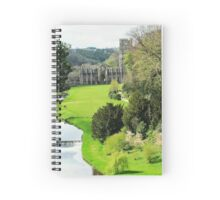 Fountains Abbey Spiral Notebook