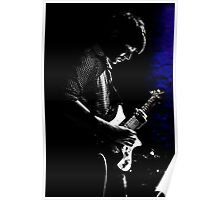 playing the blues with blue Poster