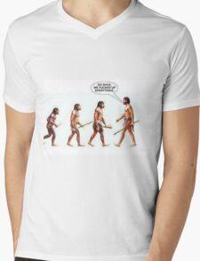 Turn Around! Mens V-Neck T-Shirt