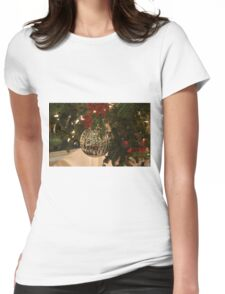 The Silver Ball Womens Fitted T-Shirt