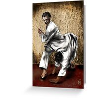 JUDO  Greeting Card