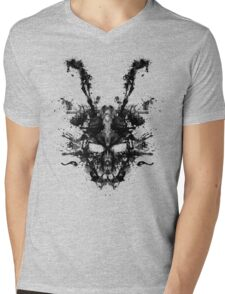 Imaginary Inkblot- Donnie Darko Shirt Mens V-Neck T-Shirt
