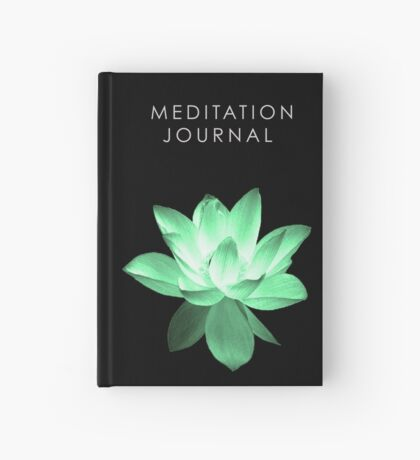 7 DAY'S OF SUMMER-YOGA ZEN RANGE- GREEN LOTUS JOURNAL Hardcover Journal