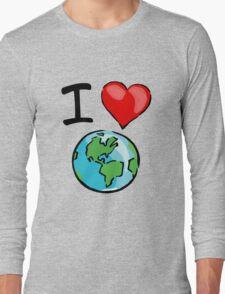 I heart earth Long Sleeve T-Shirt