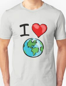I heart earth T-Shirt
