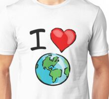I heart earth Unisex T-Shirt