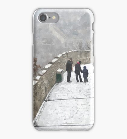 Great Wall Great Family (1) iPhone Case/Skin