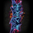 Mayhem - Graffiti by Cypher One
