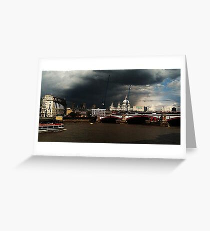 On the Thames... Greeting Card