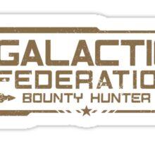 Galactic Federation Sticker