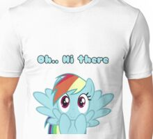 Oh...Hi There. Unisex T-Shirt