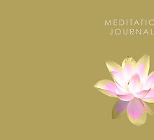 7 DAY'S OF SUMMER-YOGA ZEN RANGE- GOLD LOTUS JOURNAL by 7 days of Summer